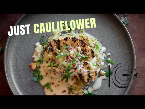 JUST CAULIFLOWER | stevescooking