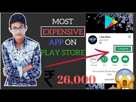 The most expensive app on play store woh nothing  OMG 