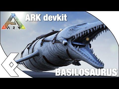 ARK Devkit - BASILOSAURUS- dino spotlight and dossier