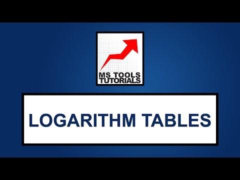 Constructing Logarithms table - Excel Tutorials | MS Tools Tutorials