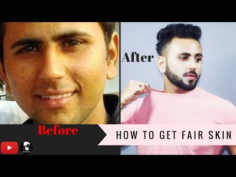 How To Get White Glowing Skin For Men Fast | Get Fair Skin At Home | Menganic | Mens Trends