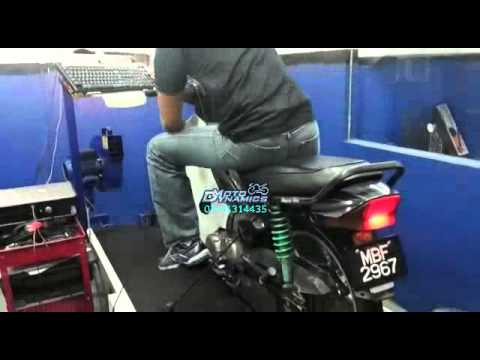Honda EX5 Fully Modified @ 120km/h - Motodynamics Technology