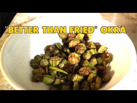 Baked Okra | Better Than Fried