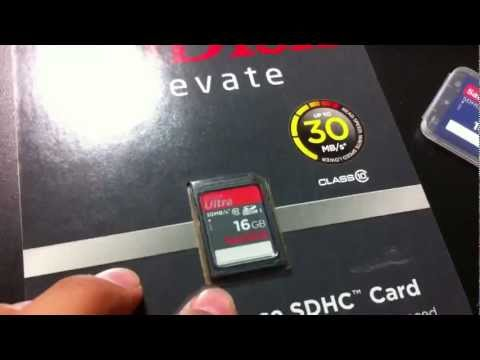 Which sd memory card to buy for dslr camera canon t2i