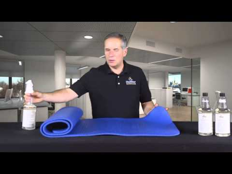 How to remove odor from yoga mats