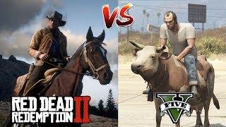 RDR2 VS GTA 5 : WHICH IS BEST?