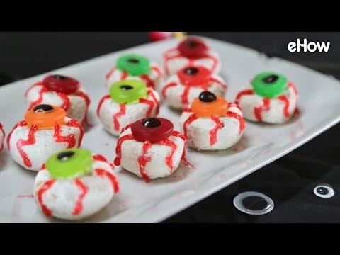 DIY Mini Donut Eyeballs