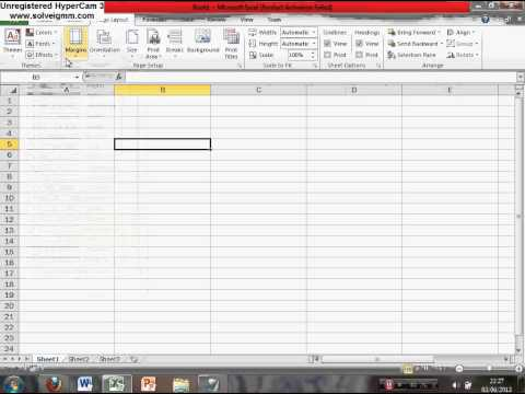how to create an excel template