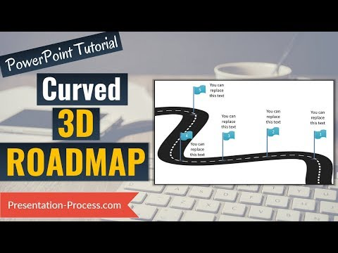 How to Create 3D Roadmap : 3D PowerPoint Series