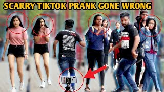 Scarry TikTok Prank on Cute Girls 😛😛 Best Tik Tok Prank | PrankShala | Pranks In Pune