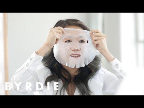 St. Tropez Self Tan Sheet Mask Review   Byrdie