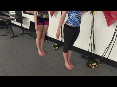 30 Day Ankle Extension Challenge- Synchronized Swimming