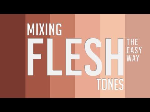 Mixing Flesh Tones