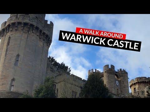 Warwick Castle Walk   A walk around medieval Warwick Castle, UK.