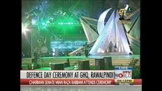 (Mera Yaar na Raha) Defence Day Ceremony at GHQ Rawalpindi 2015
