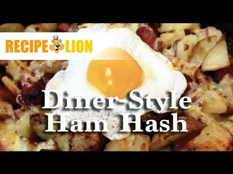 Diner-Style Ham Hash