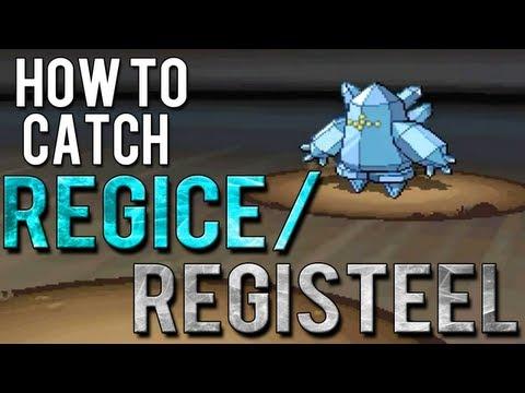 How to Catch Regice/Registeel - Pokemon Black 2 and White 2