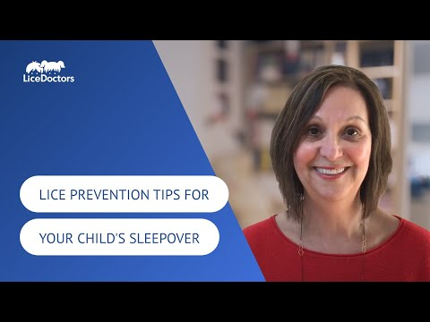 How to Protect Your Child from Head Lice on a Sleep-Over Date