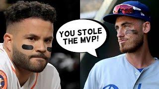 Cody Bellinger CALLS OUT Jose Altuve, Carlos Correa Responds! Kris Bryant Trade Rumors (MLB News)