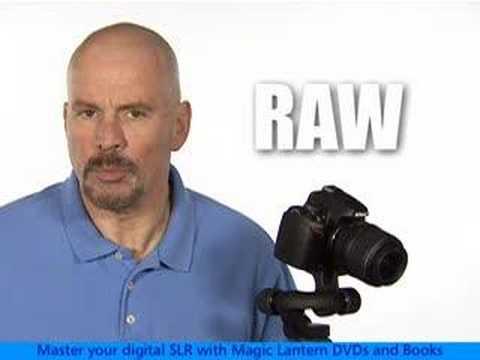 Nikon D60 - RAW vs. JPEG