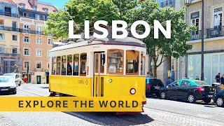 🇵🇹 LISBON's Tram 24 Ride, Portugal | 4K HDR 60fps
