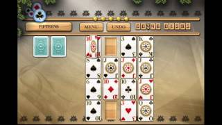 How To Play Fifteens Solitaire - Pandora's Solitaire Collection (Old version video)