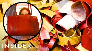 How Fire Hoses Are Being Recycled Into Fashion Accessories