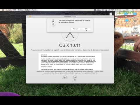 Installation de OS X 10.11 El Capitan sur un MacBook Pro / MacBook Air / MacBook / iMac