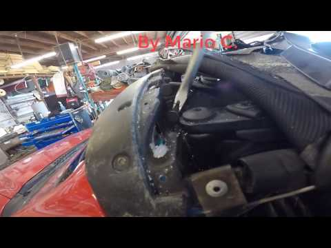 How to Replace Mustang Convertible Top Latch 1994- 2004 DIY.