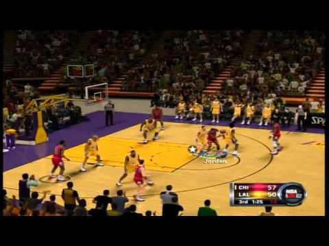 NBA 2K12  Rookie Michael Jordan Highlights (75 pts, 11 rbs, 4 asts)