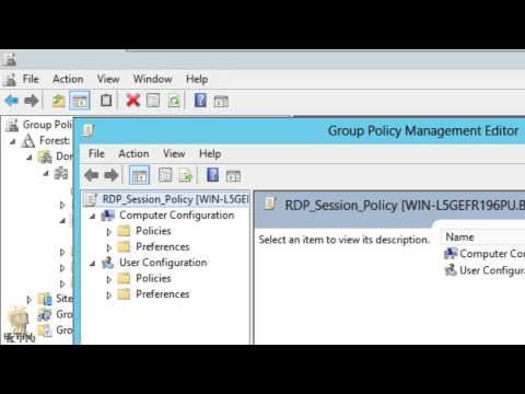 Windows Server 2012 & 2008 - Enable Multiple RDP - Group Policy - Part 4