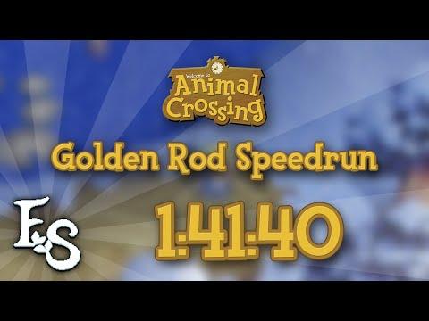 Animal Crossing - Golden Rod Speedrun in 1:41:40 [PB]