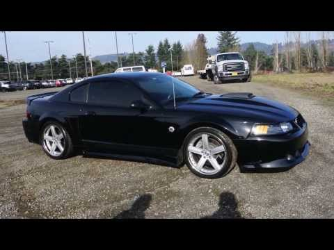 Newberg Ford Presents, 2004 Ford Mustang Mach 1 with Saleen Body Kit for sale with start up.