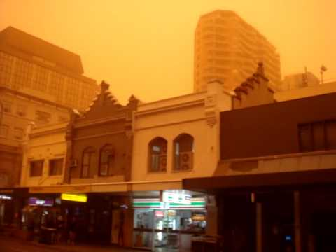 Sydney dust storm 23-09-2009.....The day I woke up on Mars....
