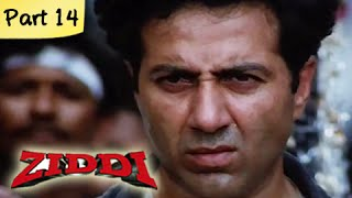 Ziddi (HD) - Part 14 of 15 - Superhit Blockbuster Action Movie - Sunny Deol, Raveena Tandon