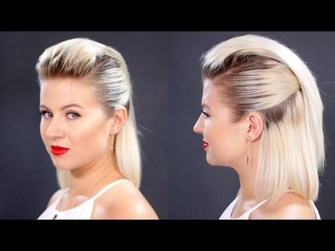Slicked Back Hair For Short Hair Tutorial | Milabu