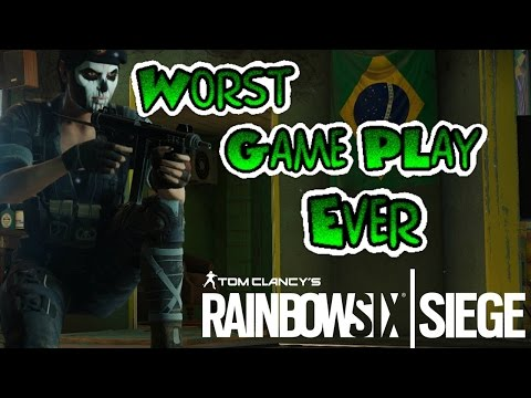 The Worst RainBow six siege game ever