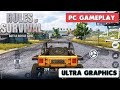 RULES OF SURVIVAL - PC GAMEPLAY ( ULTRA GRAPHICS )