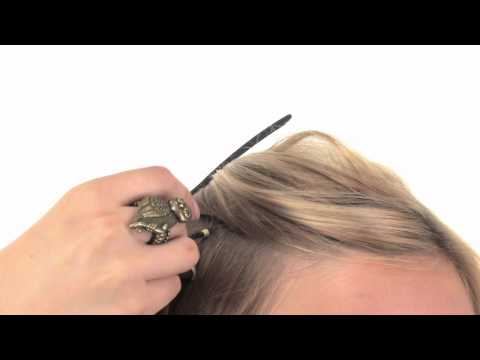 Professional Tool Kit   Applying Feather Hair Extensions