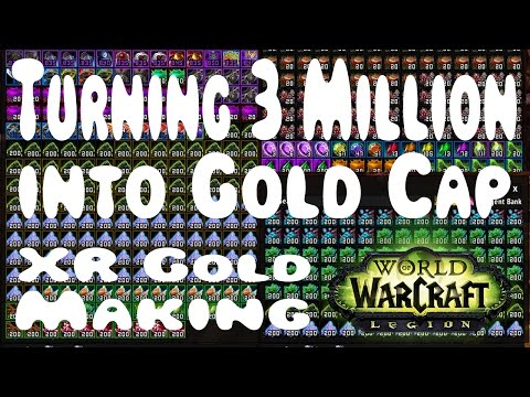 Turning 3 Million into Gold Cap! Realm Transfer Gold Making