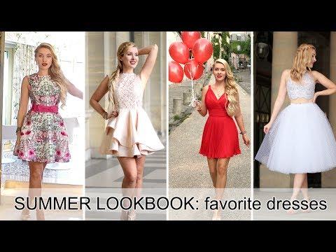 SUMMER LOOKBOOK: favorite dresses