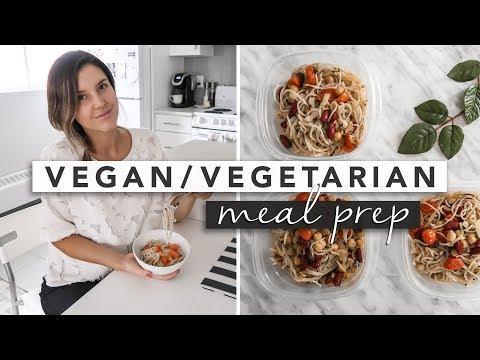 2 Easy Vegan / Vegetarian Meal Prep Lunch or Dinner Recipes