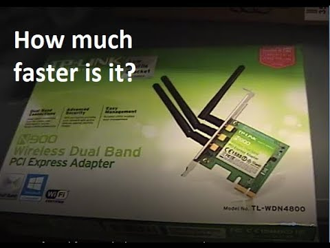 New wifi card for my desktop PC - TP Link N900