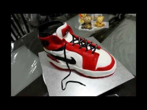 Retro Nike Air Jordan Basketball Shoe Cake