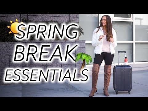 My Spring Break Essentials ♡