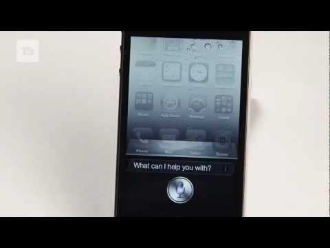 Apple iPhone 4S Siri Review: Demo