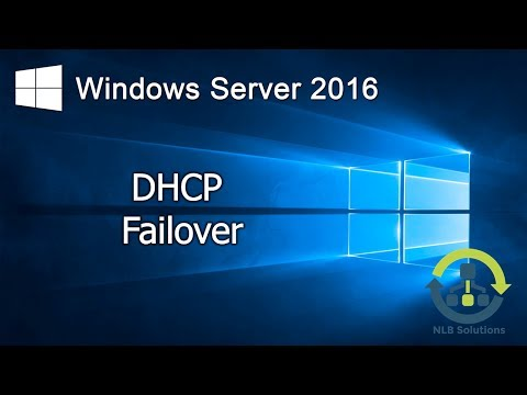 2.2 Implementing DHCP Failover in Windows Server 2016 (Step by Step guide)