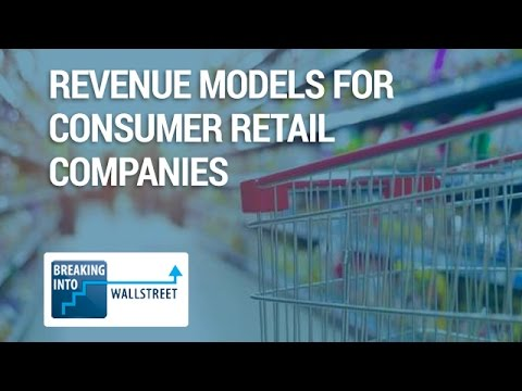 Revenue Models for Consumer Retail Companies