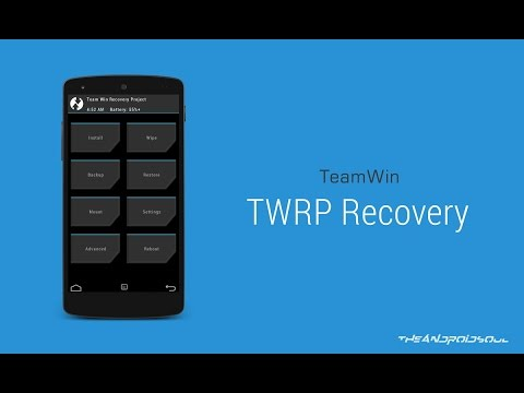[ROOT] Install TWRP recovery quick and easy!!!