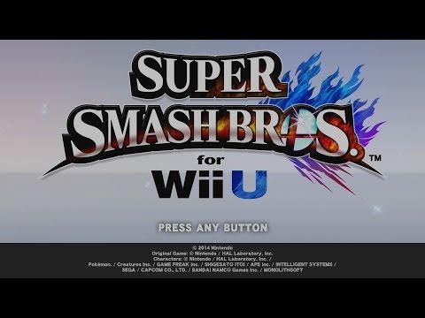 Super Smash Bros. Wii U - Intro Video